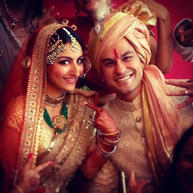 Soha Ali Khan and Kunal Khemu wedding photos
