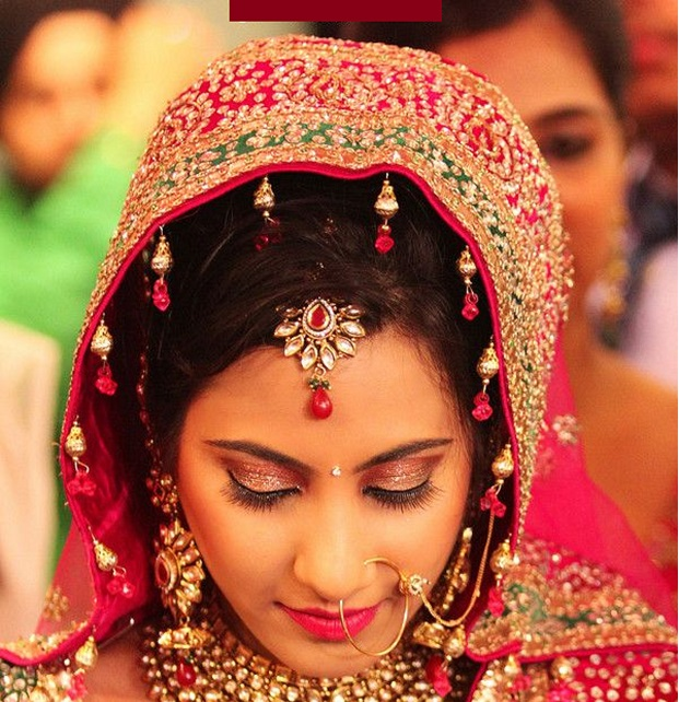 simpler bindis 2015 bridal trend