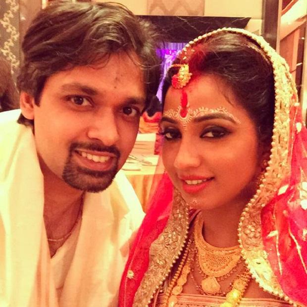 shreya ghoshal wedding