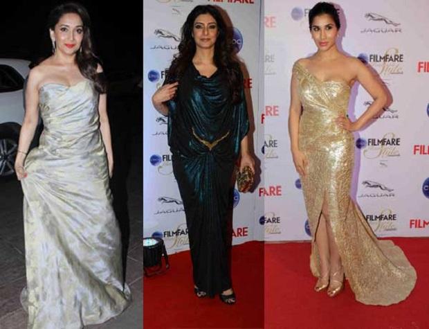 Tabu Sophie Chowdhary at the Sonam Kapoor at Filmfare Style & Glamour Awards Press