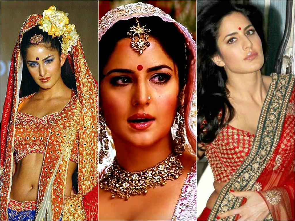 katrina kaif best bridal looks