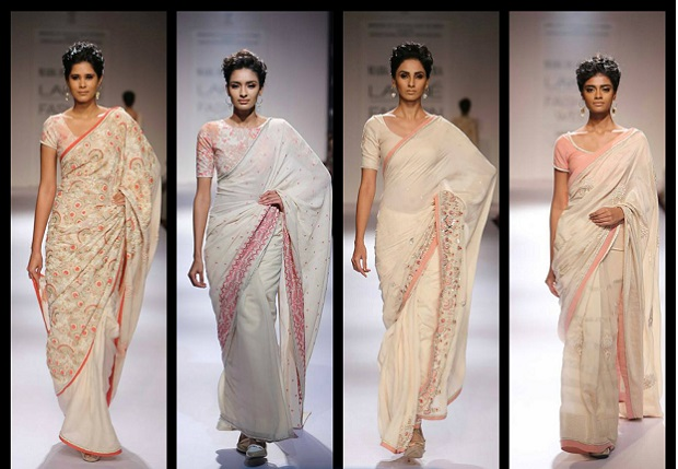 Marg collection by designer soumitra at the Lakme Fashion week 2015 summer resort