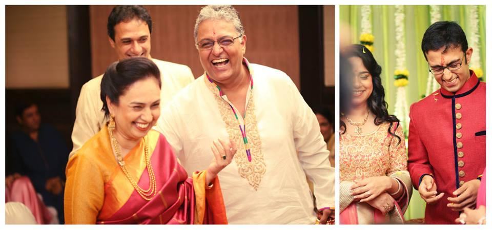 parents in Indian wedding