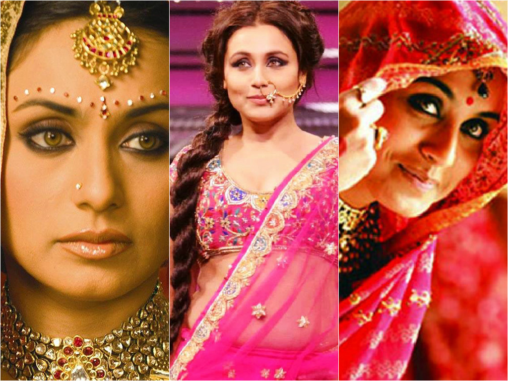 rani's bridal looks from movies