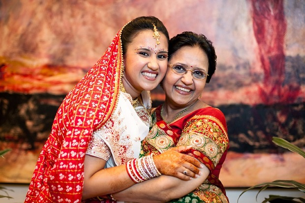advice a mother gives the bride to be