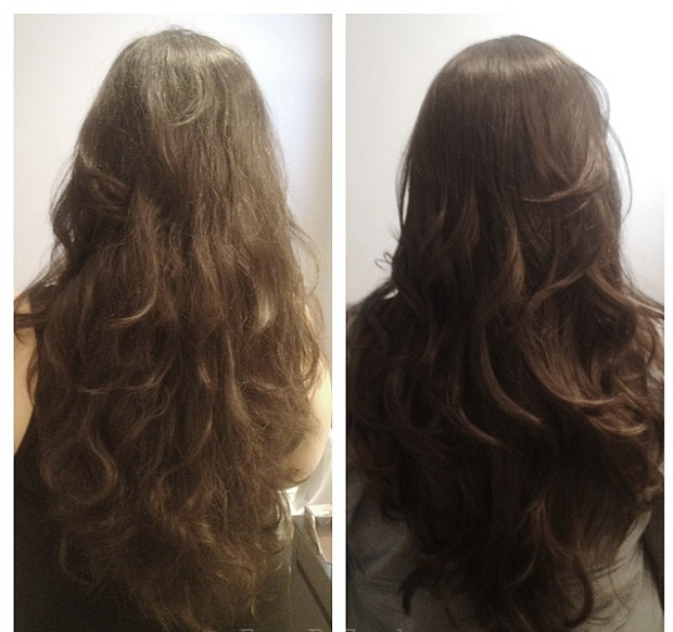 Coleen Khan's bridal tips for frizzy hair