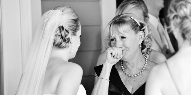 Premarital advice from mom to her daughter-the bride to be