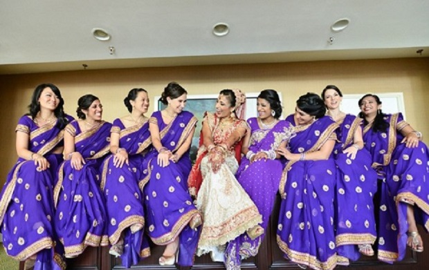 friends every bride needs on her wedding day