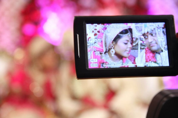 Beautiful pink silver lehenga Real bride real Indian Punjabi wedding