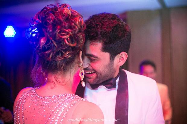 beautiful bridal hairstyle Bollywood themed destination Goa wedding