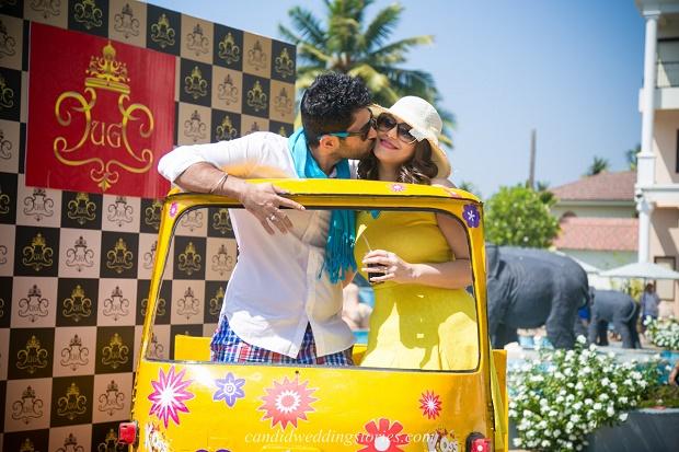 Bollywood themed destination Goa wedding