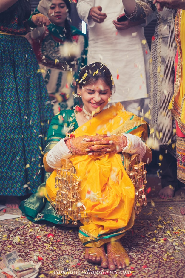 Maharashtrian-Punjabi fusion wedding and a destination Goa wedding