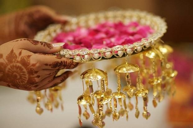 kaliren for the bride- Real Indian Punjabi wedding