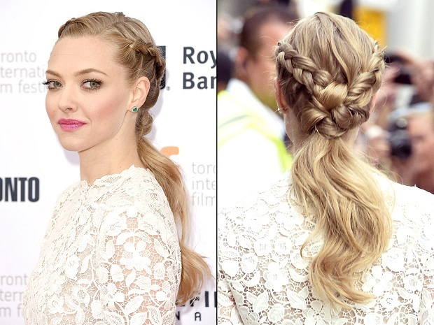 Hollywood inspired braided hairstyles