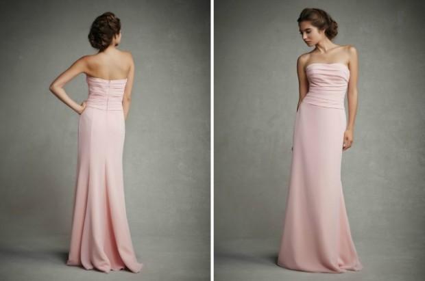 cashmere pink wedding dresses