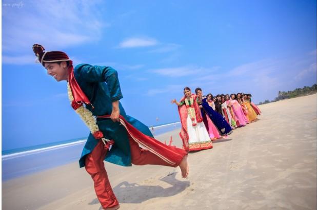 unusual indian wedding photos