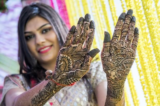 Mehendi ceremony fit for a princess Jodhpur royal real wedding