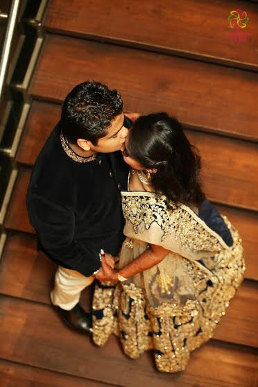 Real Indian wedding photography by Confetti films Inc