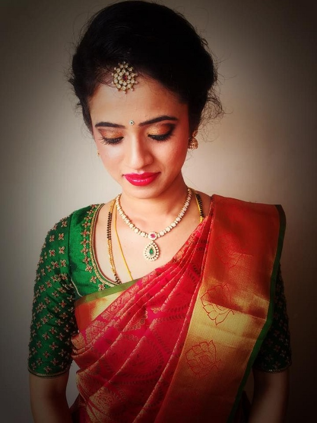 Simple Indian wedding hairstyles