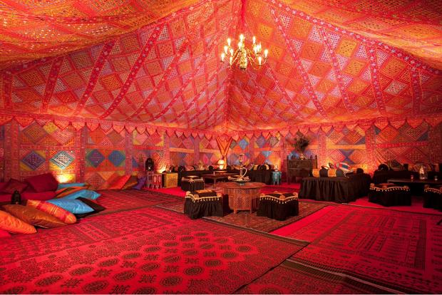 Arabian Nights wedding decor