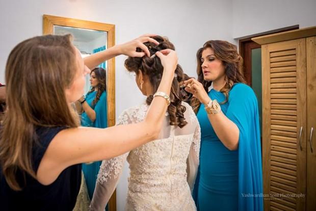 Raveena Tandon daughter wedding photos
