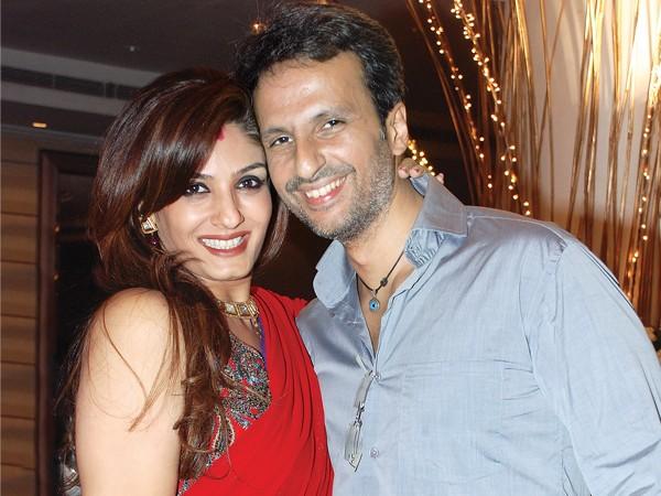 raveena tandon and Anil thadani pic