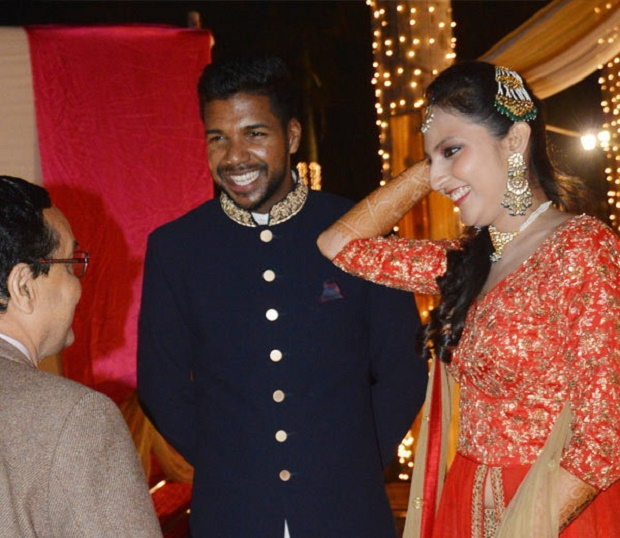 varun aaron and ragini wedding pics
