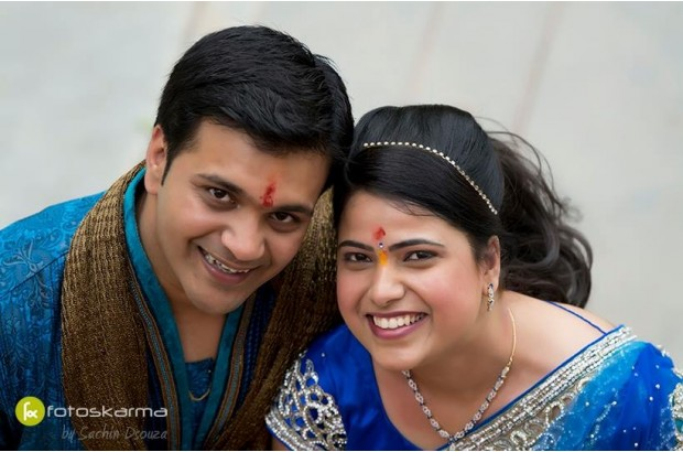 small indian wedding