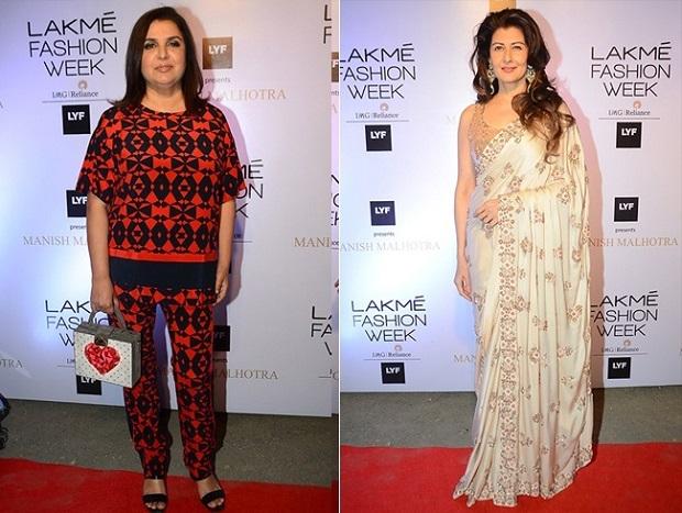 Farah-Khan-and-Sangeeta-Bijalani-at-Lakme-Fashion-Week-2016