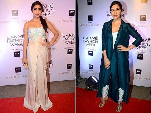 Shriya-Saran-And-Sophie-Choudry-At-at-Lakme-Fashion-Week-2016