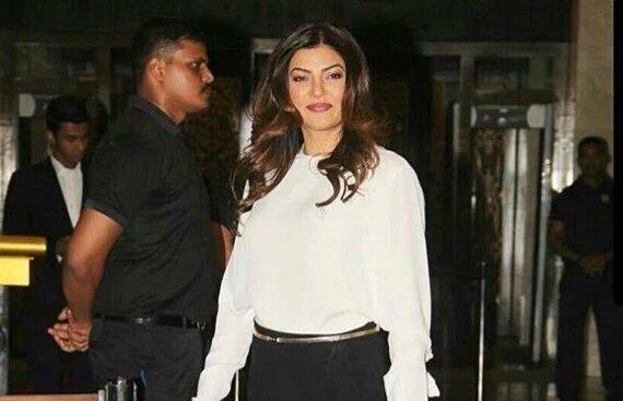 Sushmita Sen at Preity zinta reception