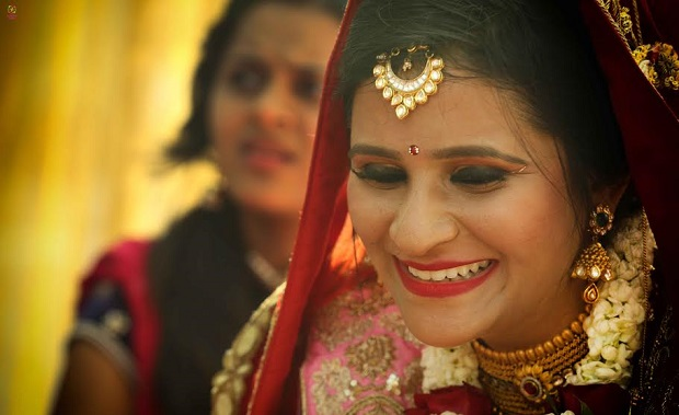 The bride real Indian wedding in Daman by Confetti Films