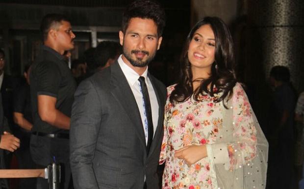 Shahid and Mira Rajput attend Preity zinta's wedding reception