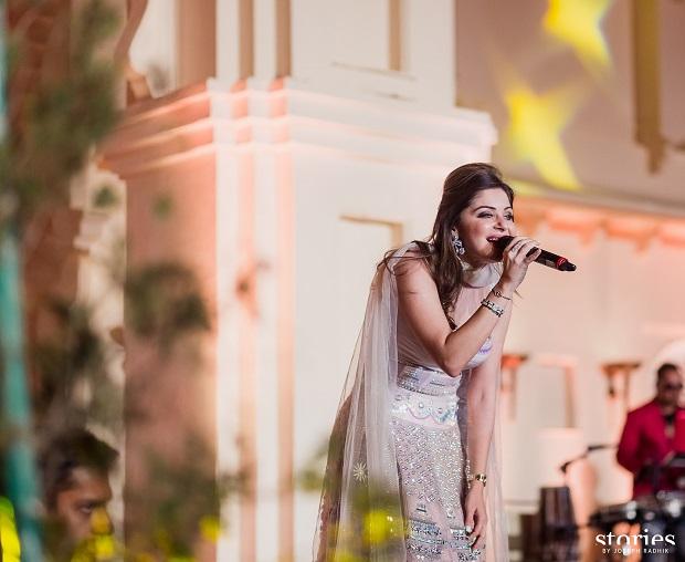 Kanika Kapoor entertain at real royal destination Udaipur wedding planned by Cineyug Celebration Event planners