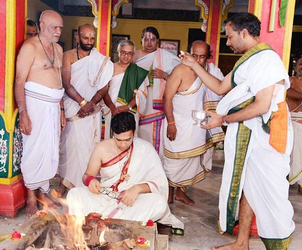 pre wedding rituals of the Mysore palace royal wedding