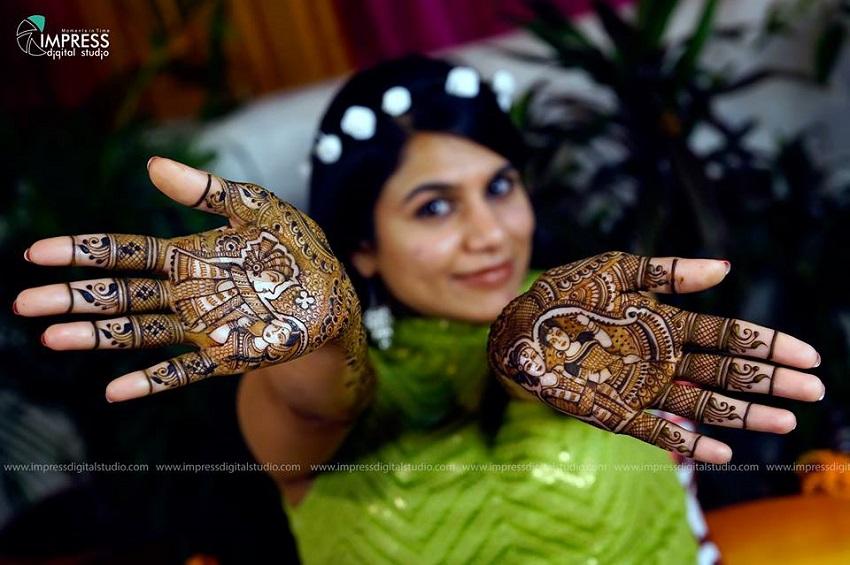bridal mehendi designs latest for 2016