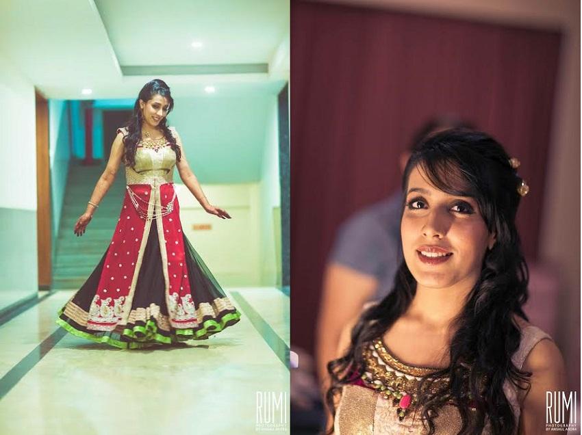 bridal makeovers by Melani Rawat Blush Salon India