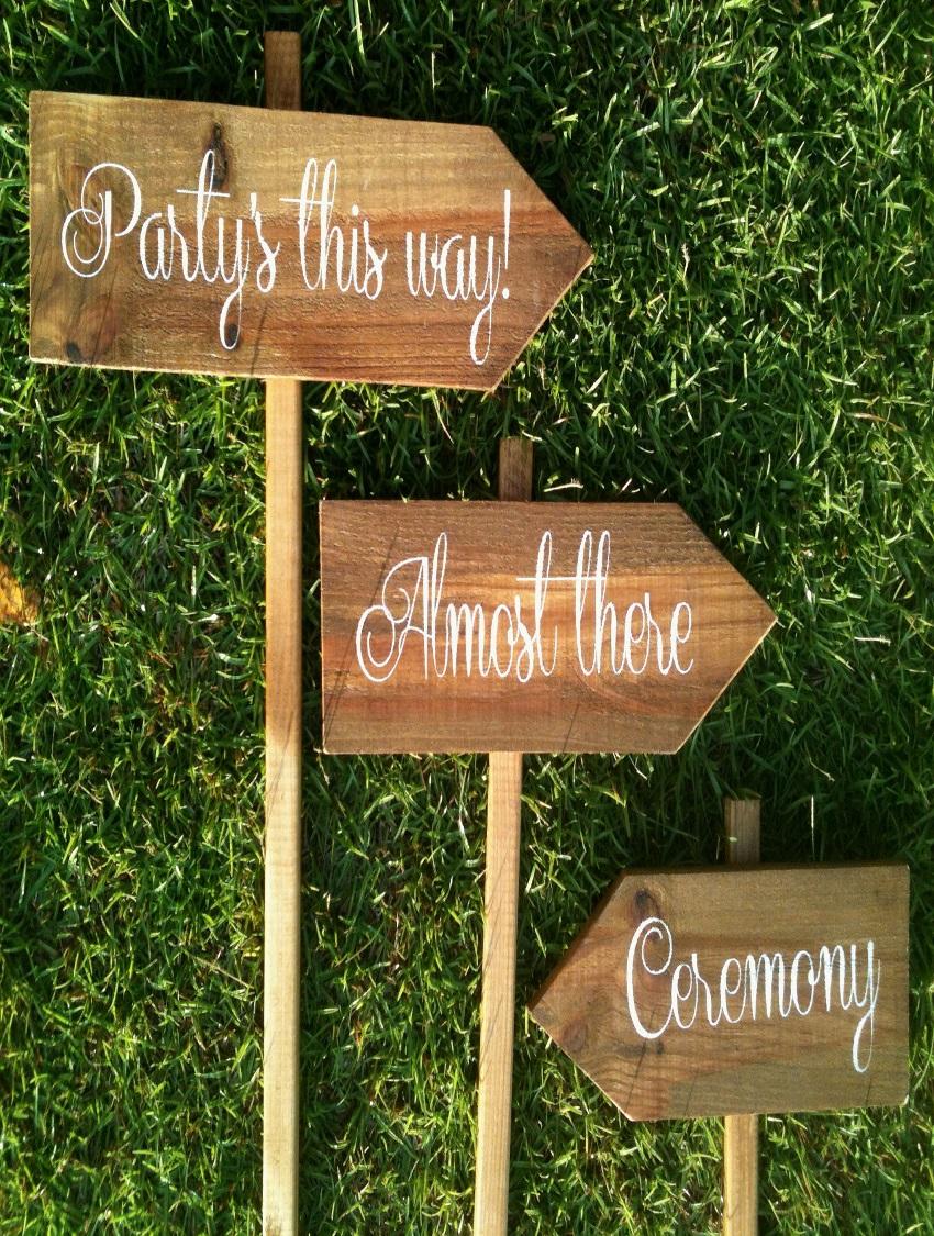 wedding signages