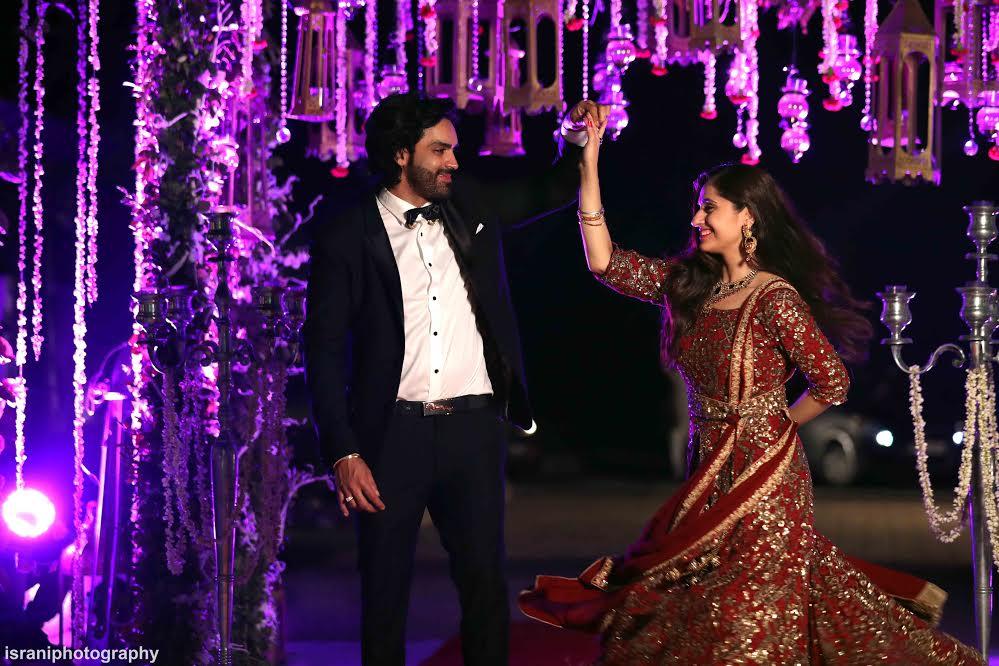 Celebrity wedding in India-Mayank Gandhi and Hunar Hale