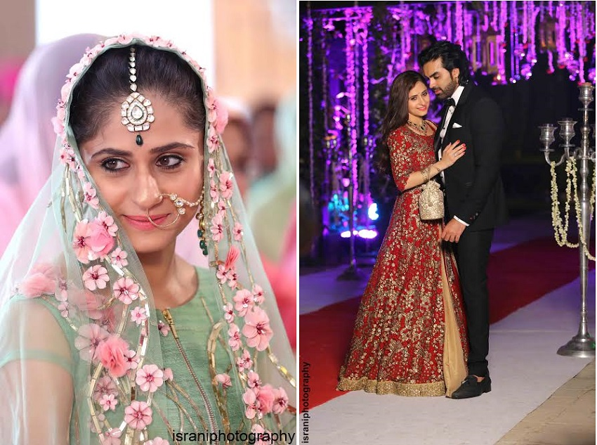 mayank gandhi and hunar hale wedding photos