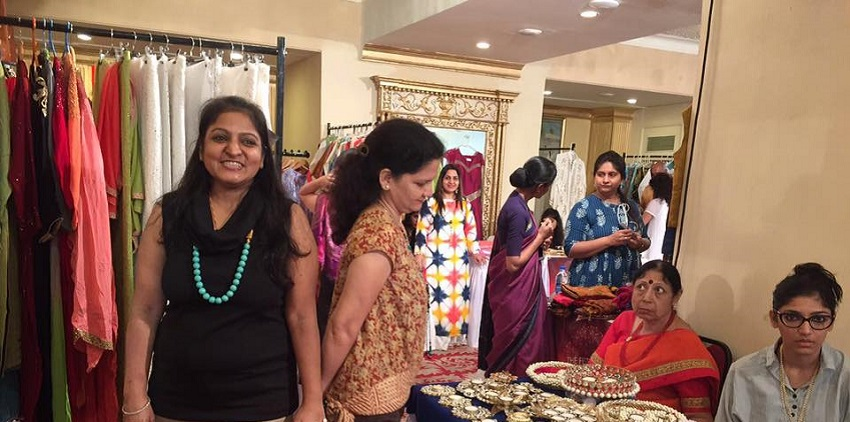 Festive Trunk Exhibition sponsored by Hop N Shop and weddingsonline India