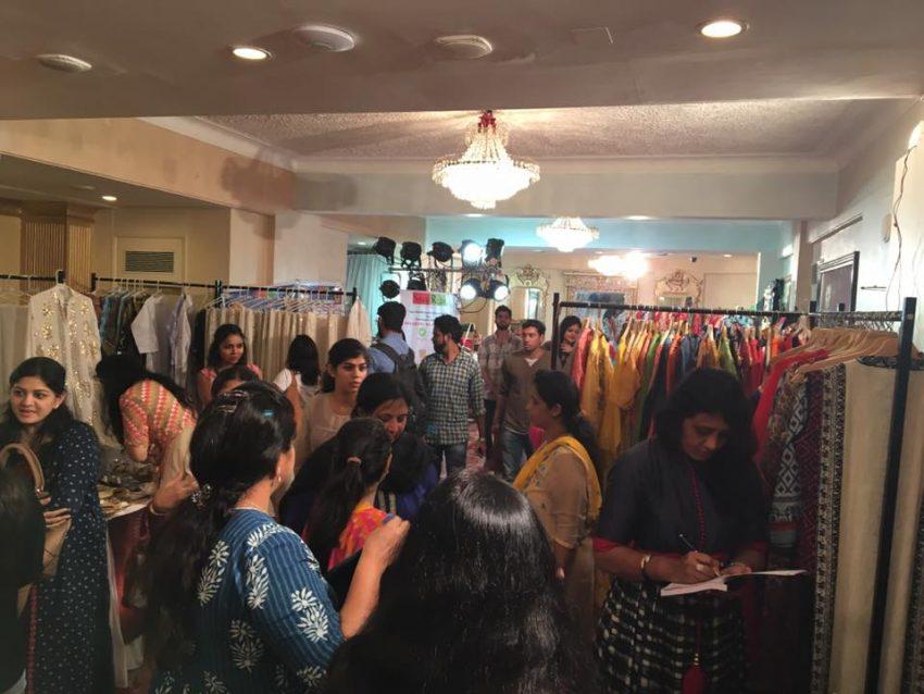 Festive Trunk Exhibition sponsored by Hop N Shop and weddingsonline India
