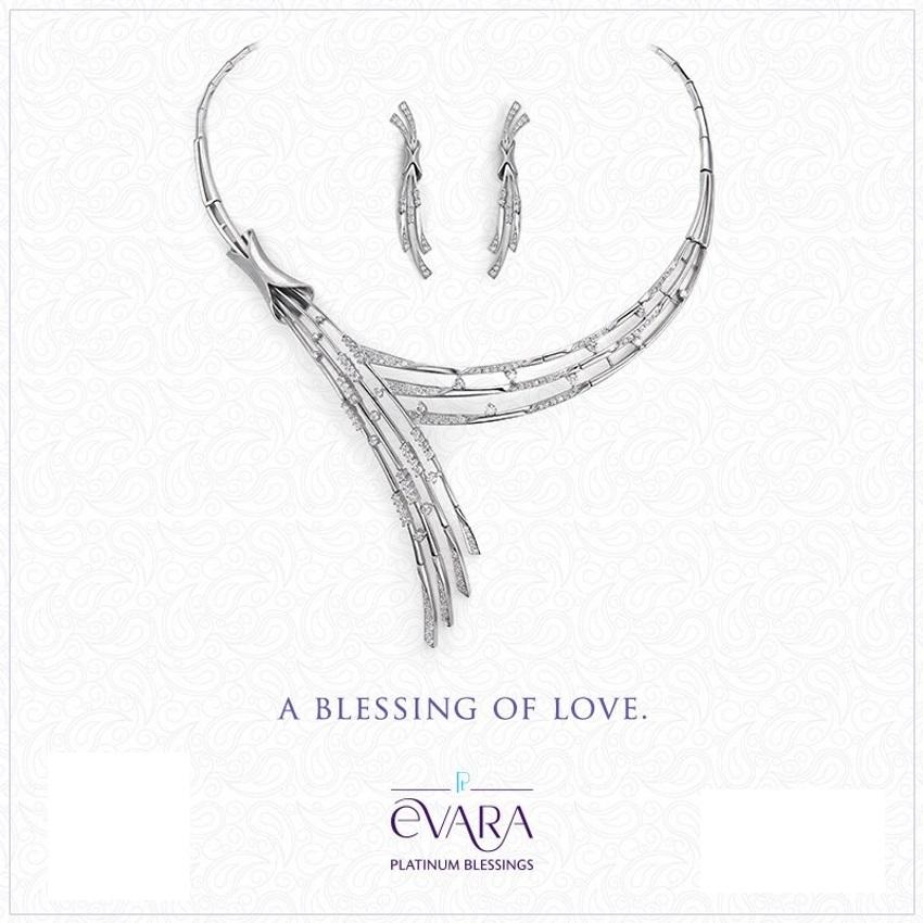 evara platinum jewellery