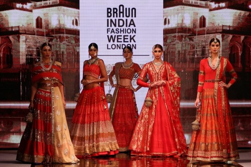 Braun India Fashion Week 2016 bridal wear