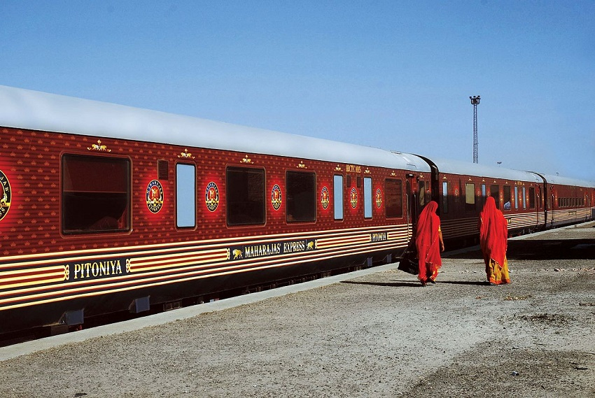 get married on a train in India!