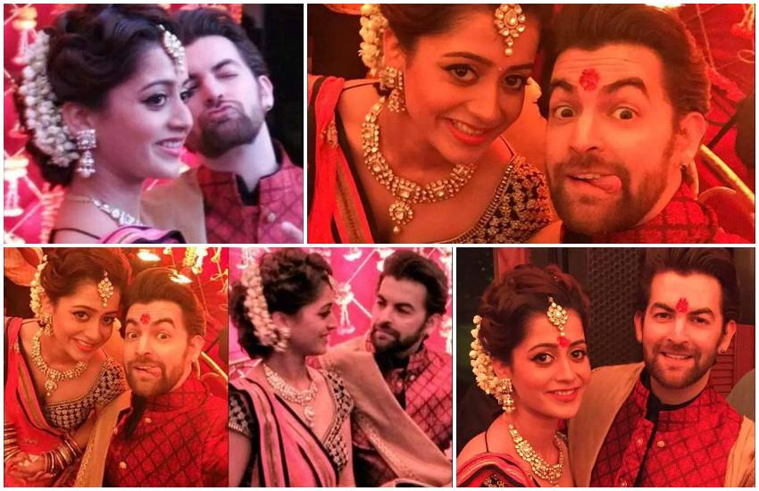 Neil Nitin Mukesh and Rukmini Sahay engagement photos