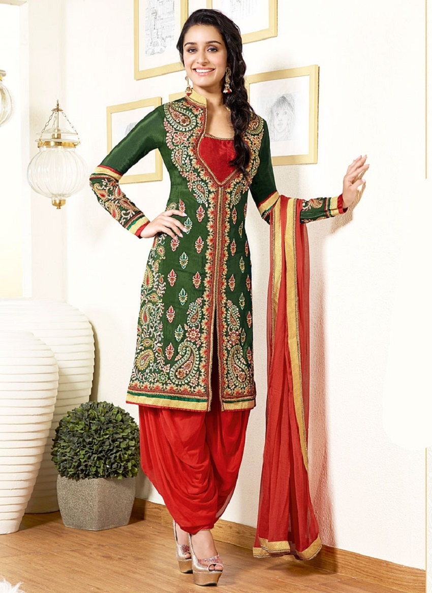 different bridal bottom wear styles for Indian bridal kurtis
