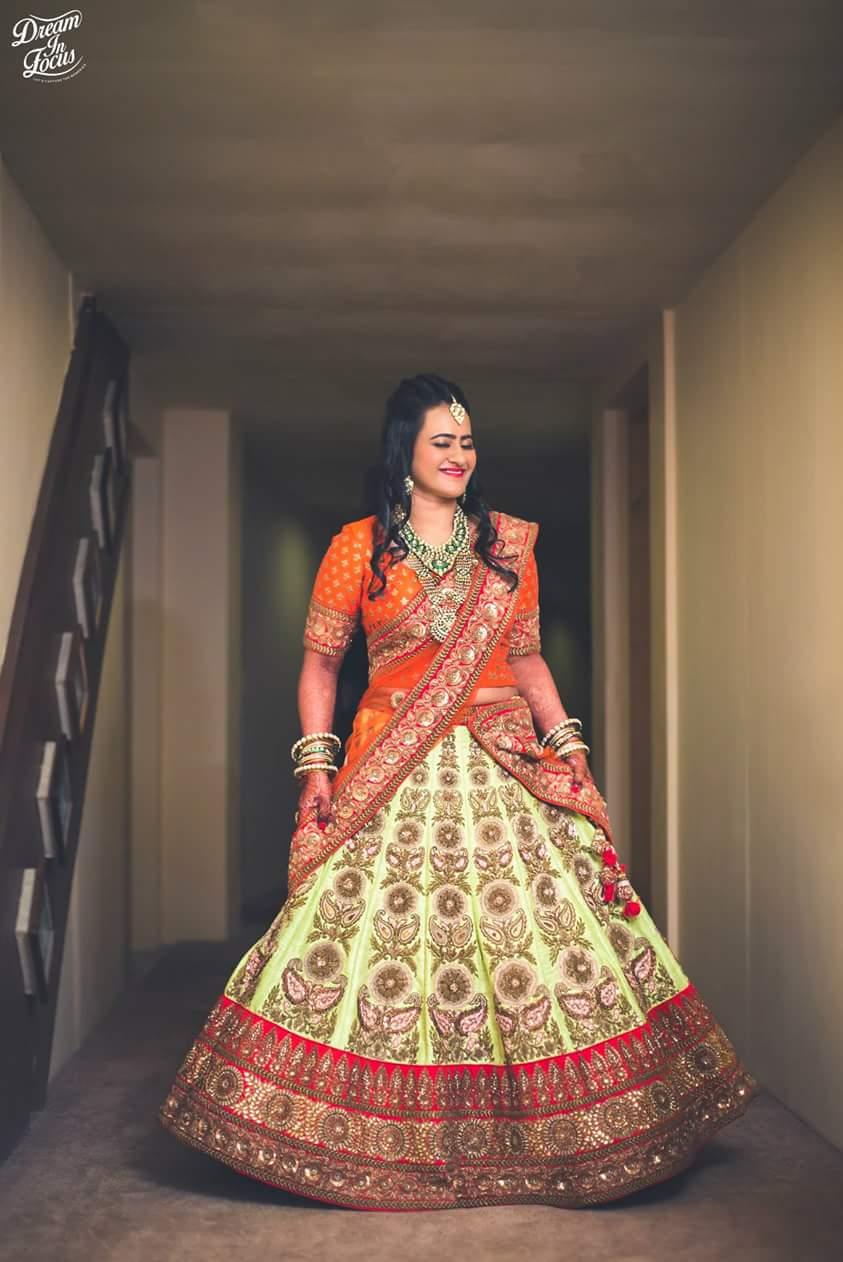 Wedding lehenga colours