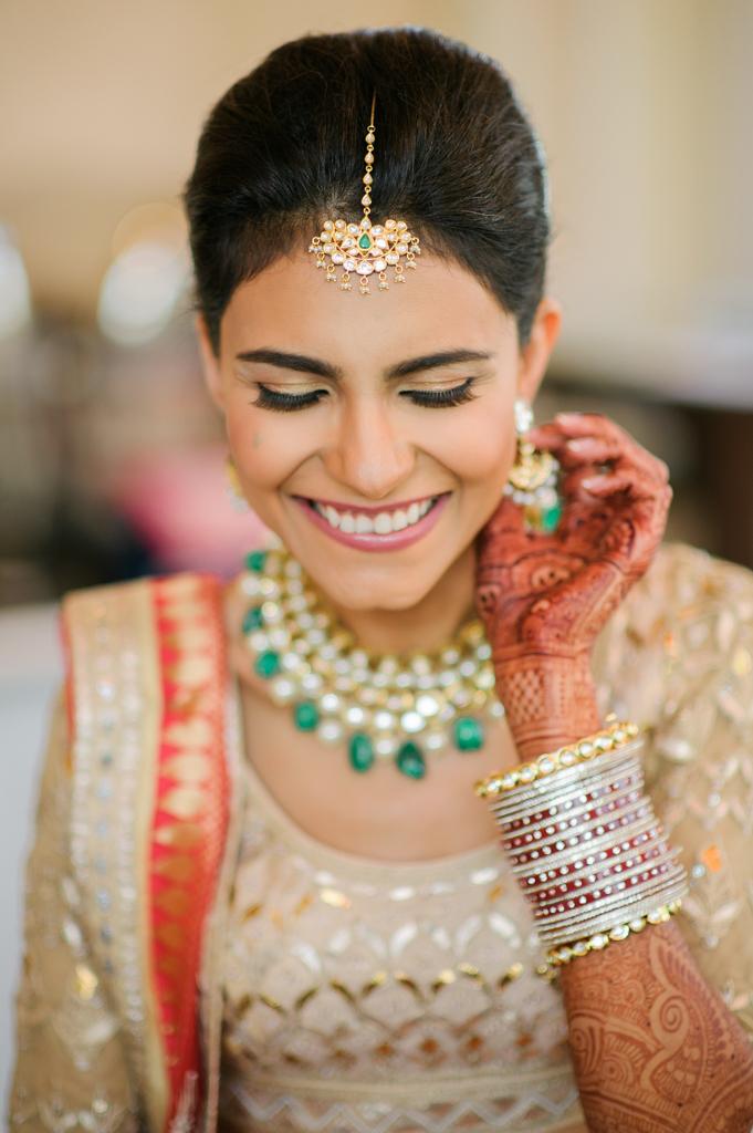 PINK CITY wedding jewelry by Anita Dongre