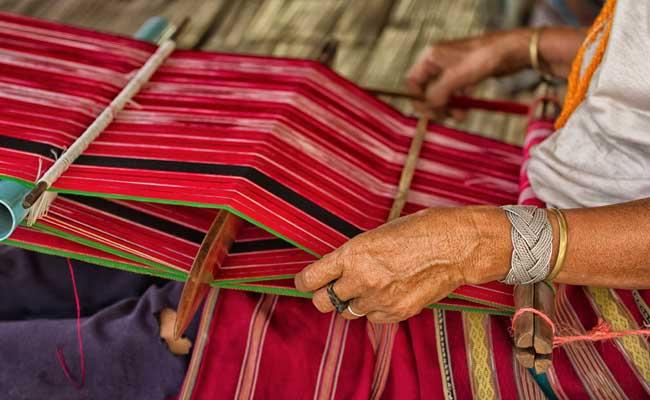 handloom sari